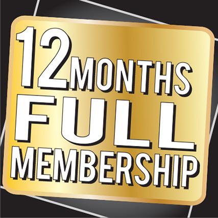 12 Months Full Membership