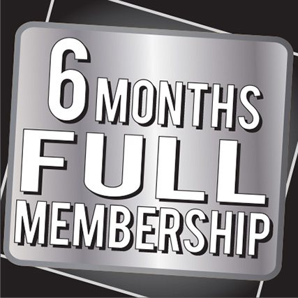 6 Months Full Membership
