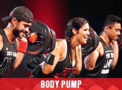 Body Pump at Mick's Gym Melton