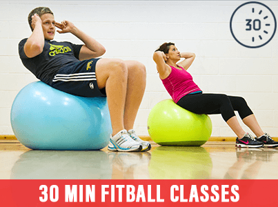 30 Min Fitball Classes at Mick's Gym Melton