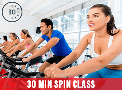 30 Min Spin Class Express at Mick's Gym Melton