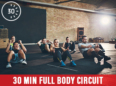30 Mins Full Body Circuit